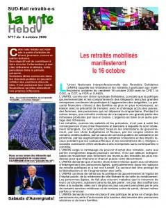 Note Hebdo